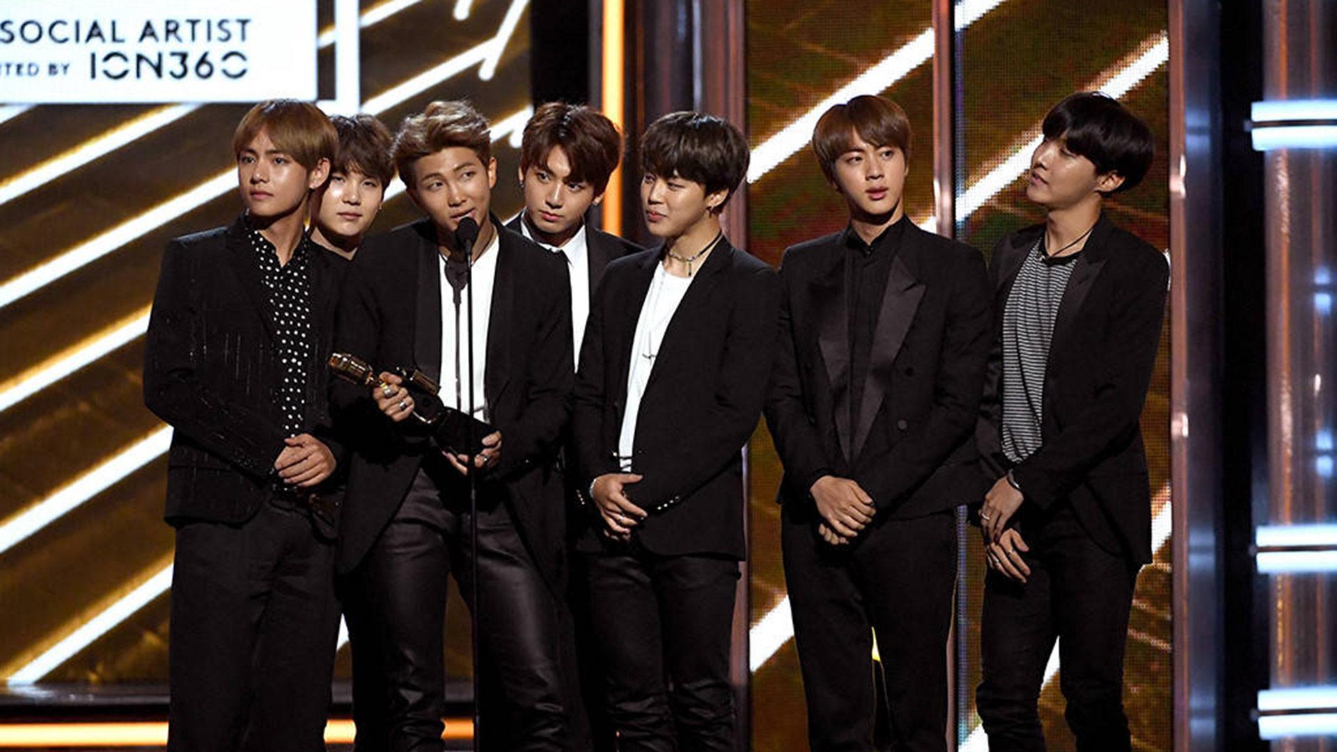 [Actualité] BTS est le premier groupe K-Pop à remporter un Billboard Music Awards