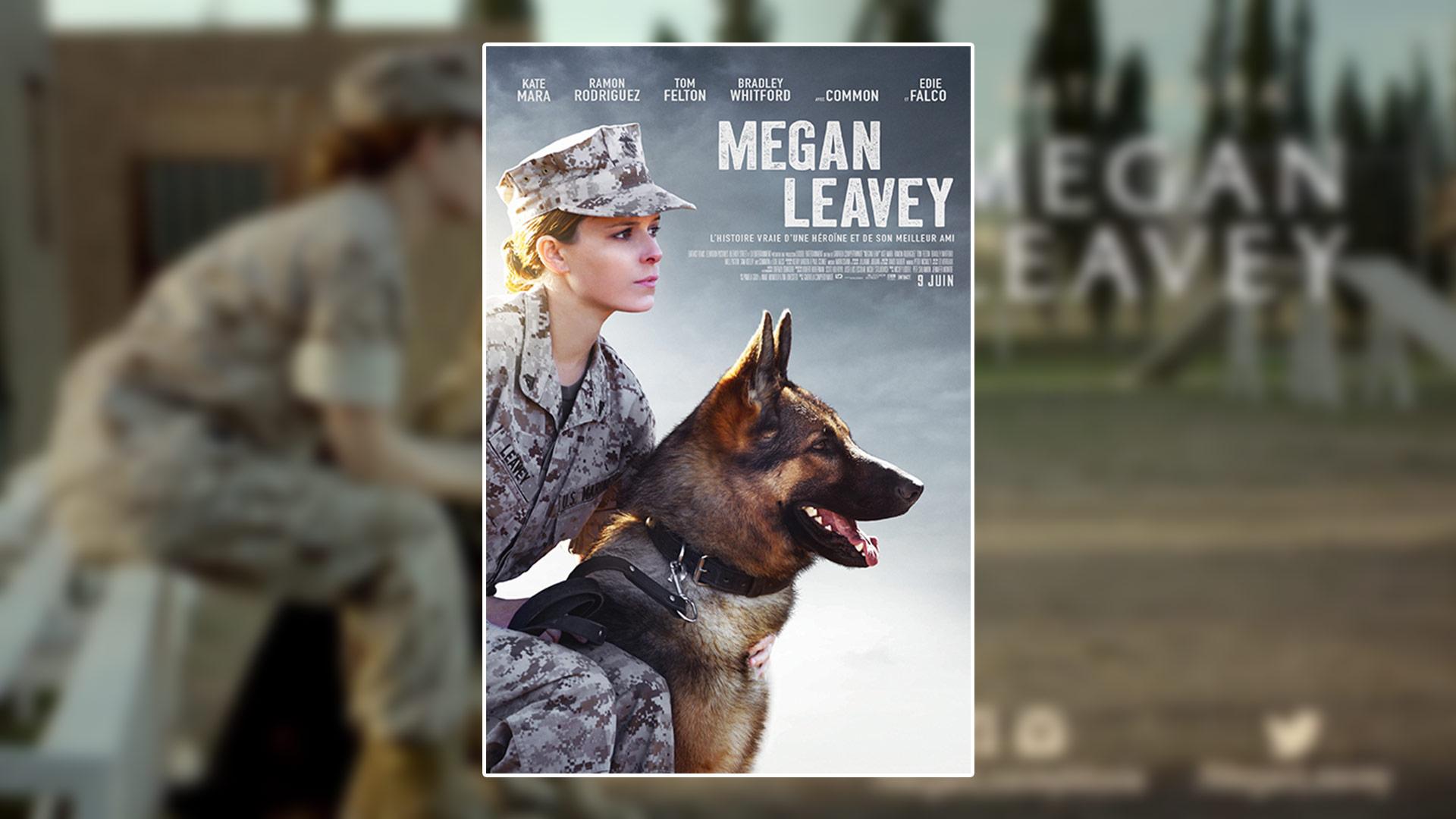 [Concours Film] Assistez à l'avant-première de MEGAN LEAVEY (en français)