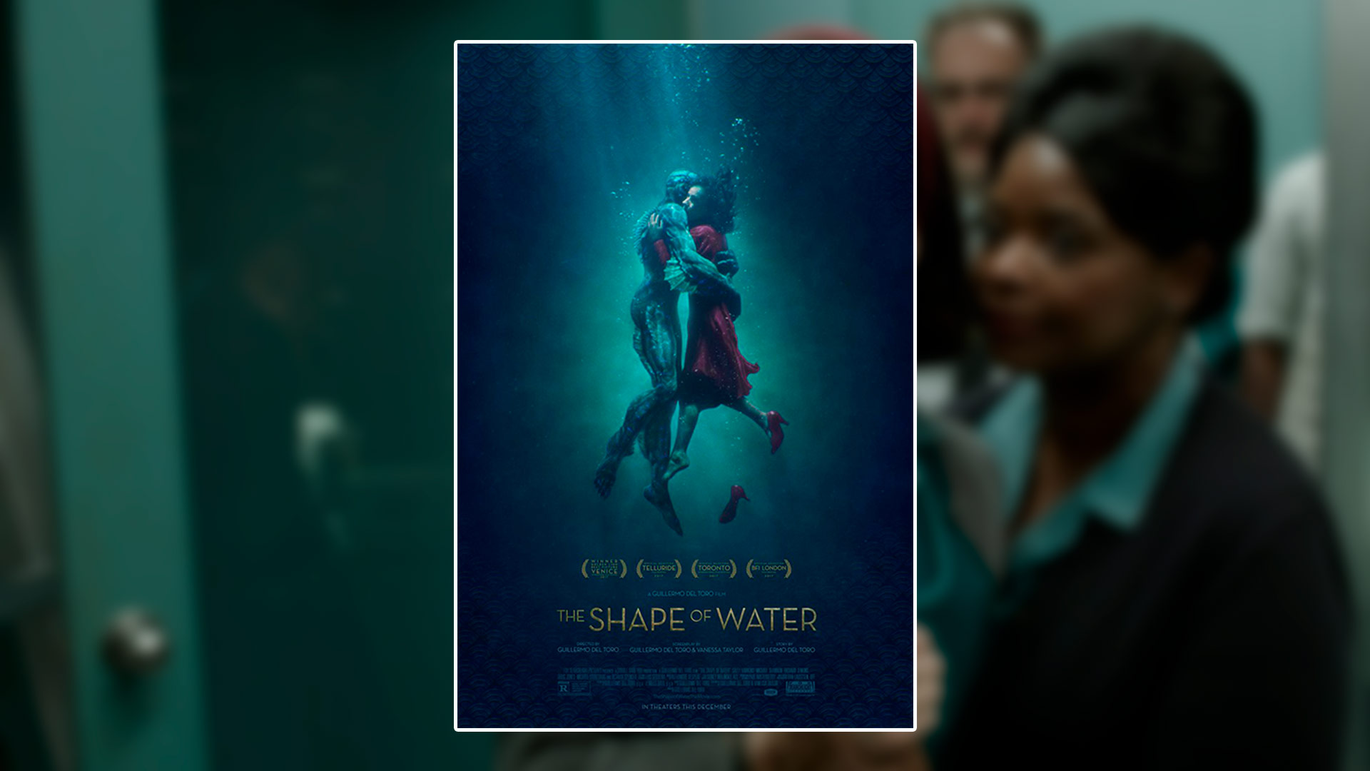 Critique du film The Shape of Water réalisé par Guillermo del Toro
