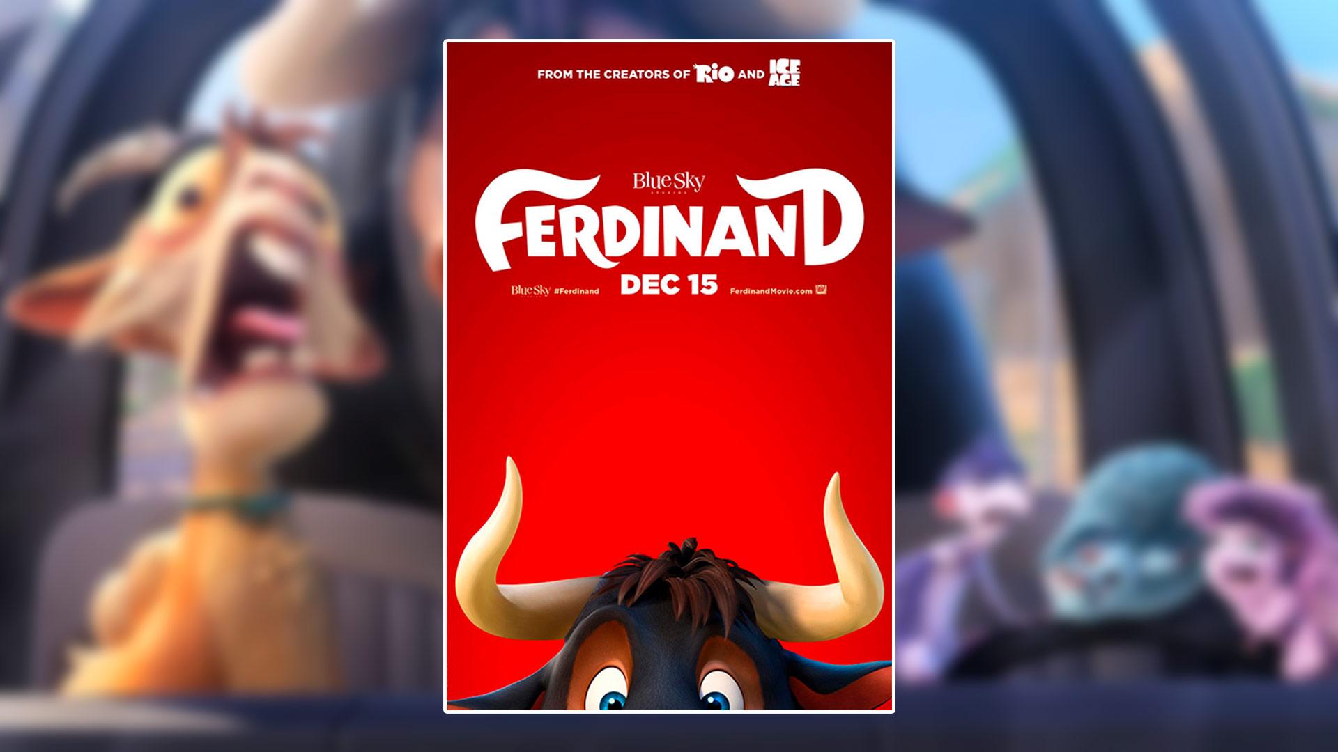 Critique du film Ferdinand avec John Cena