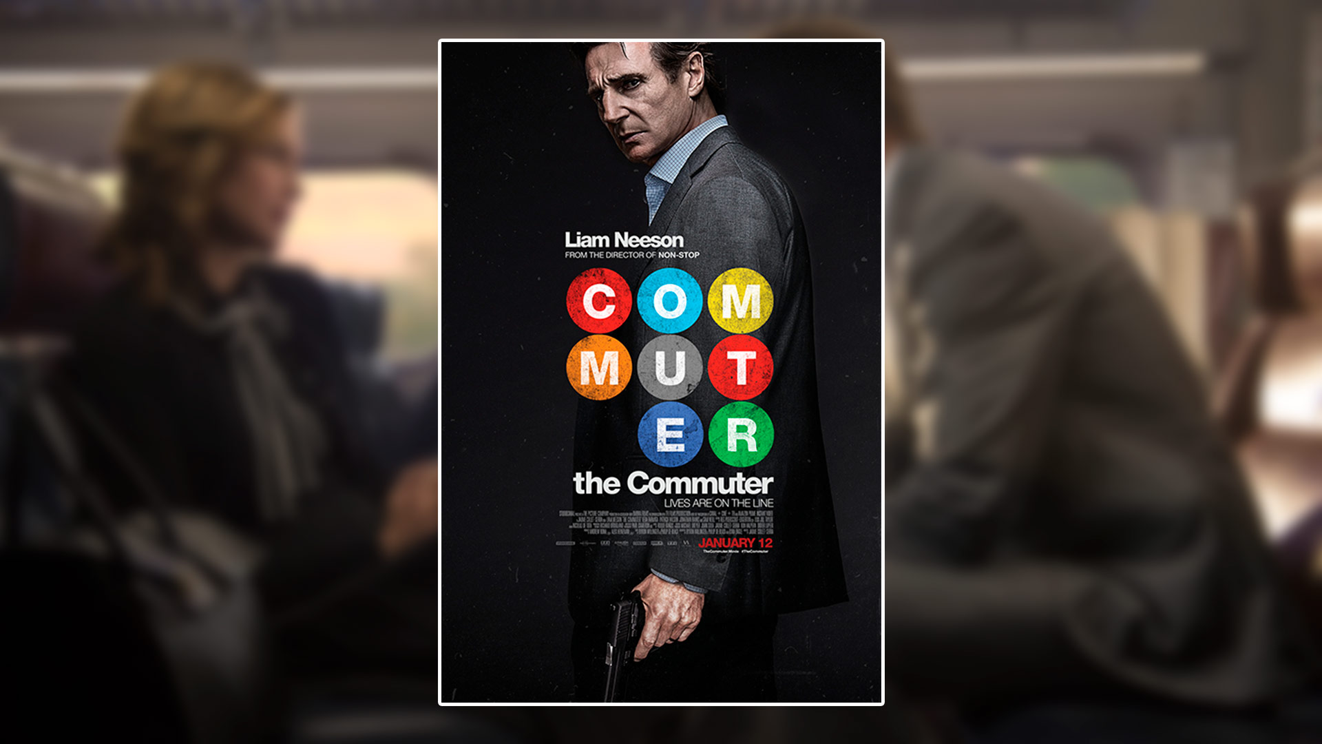 Critique du film The Commuter avec Liam Neeson