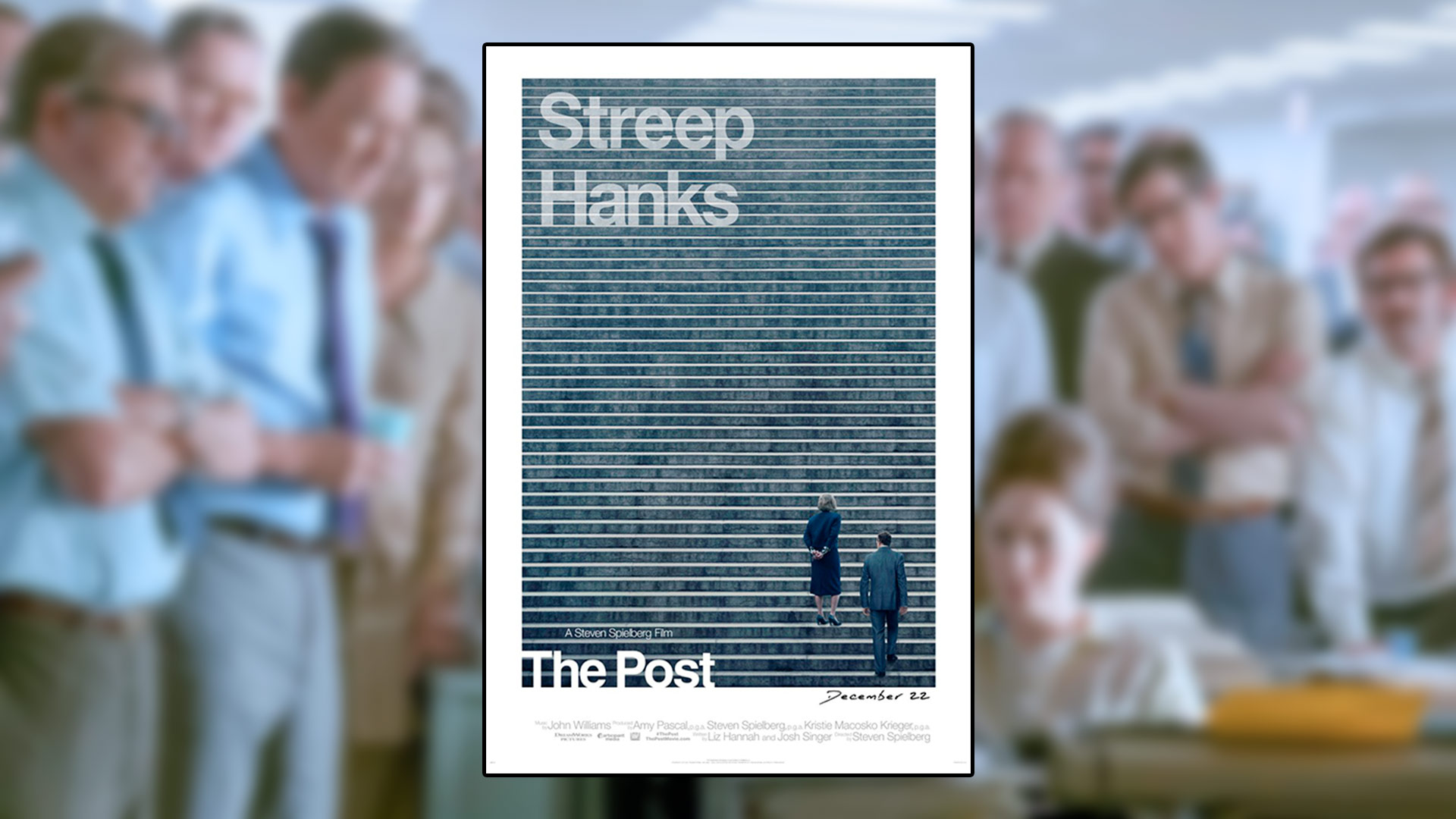 Critique du film The Post réalisé par Steven Spielberg