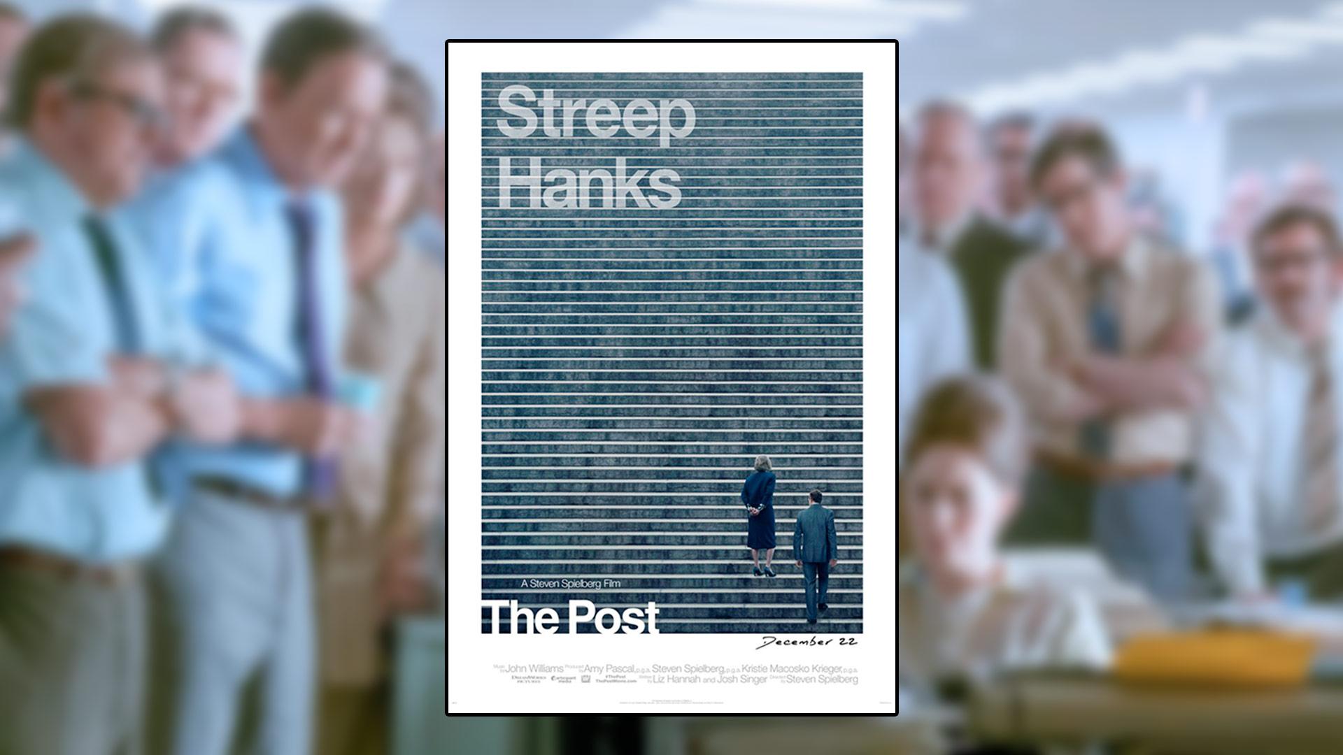 Critique du film The Post réalisé par Steven Spielberg