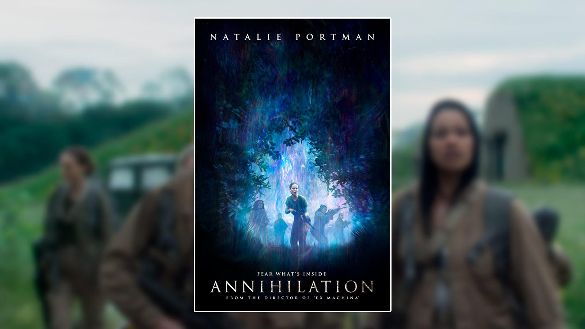 Critique du film Annihilation avec Natalie Portman