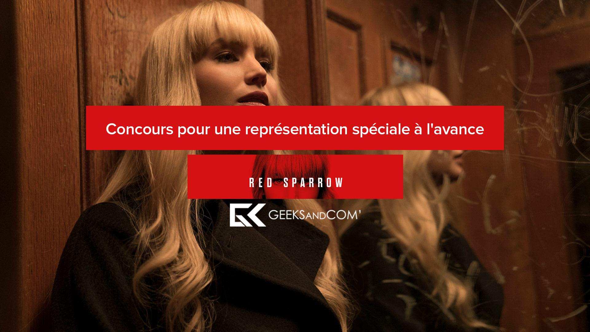 [Montréal] Concours pour une représentation spéciale à l'avance du film RED SPARROW (VOA ou FR)