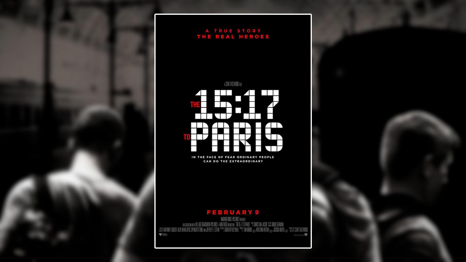 Critique du film The 15:17 to Paris réalisé par Clint Eastwood