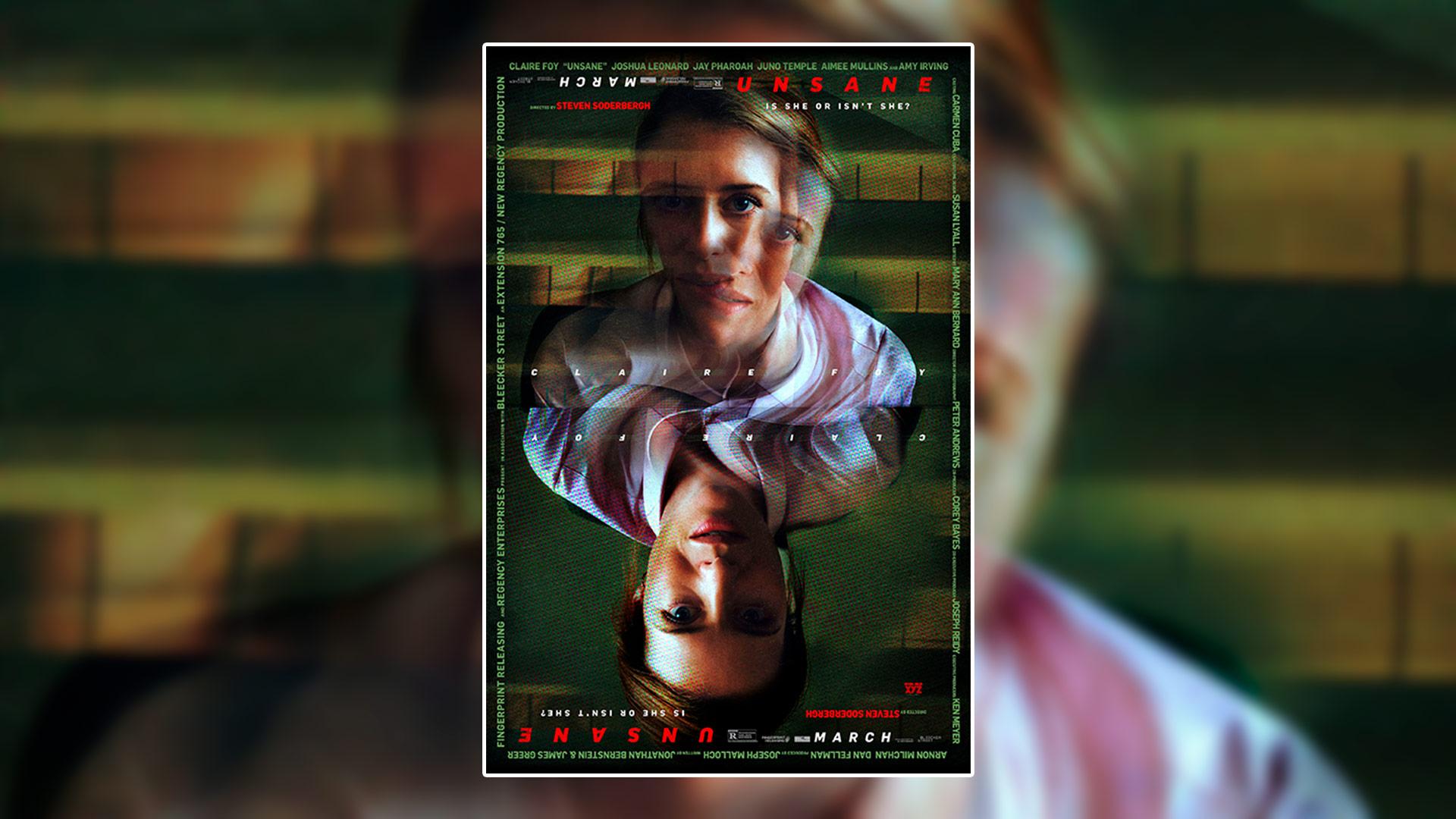 Critique du film Unsane réalisé par Steven Soderbergh