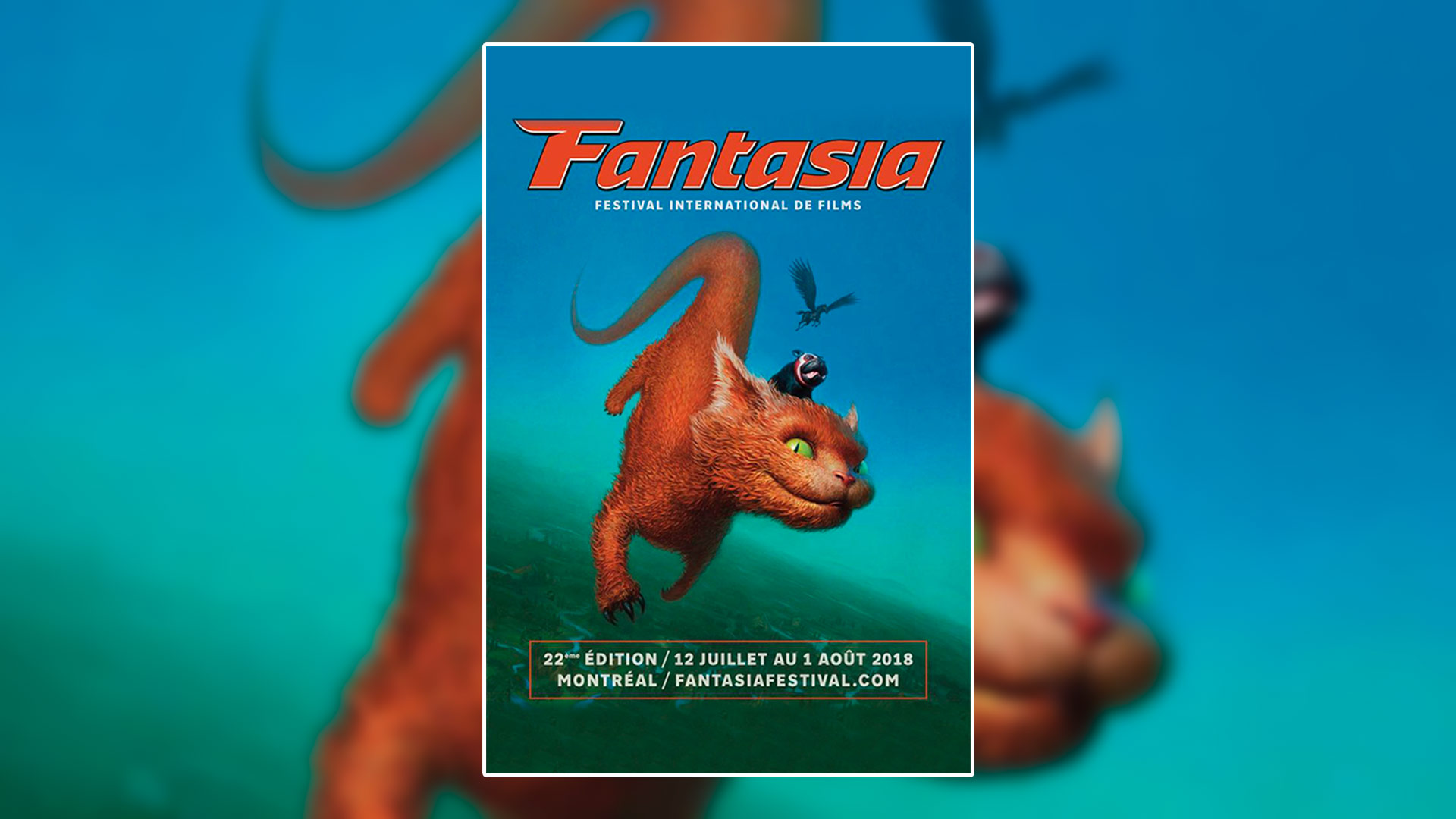 Le festival Fantasia dévoile son affiche et deux films à l'affiche