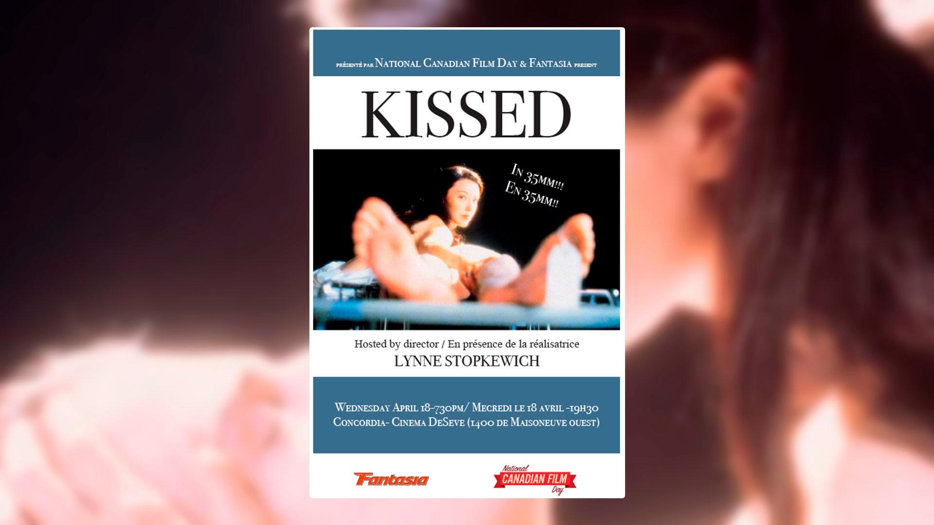 [Montréal] Concours pour une présentation spéciale du film KISSED (VOA & 35 mm)