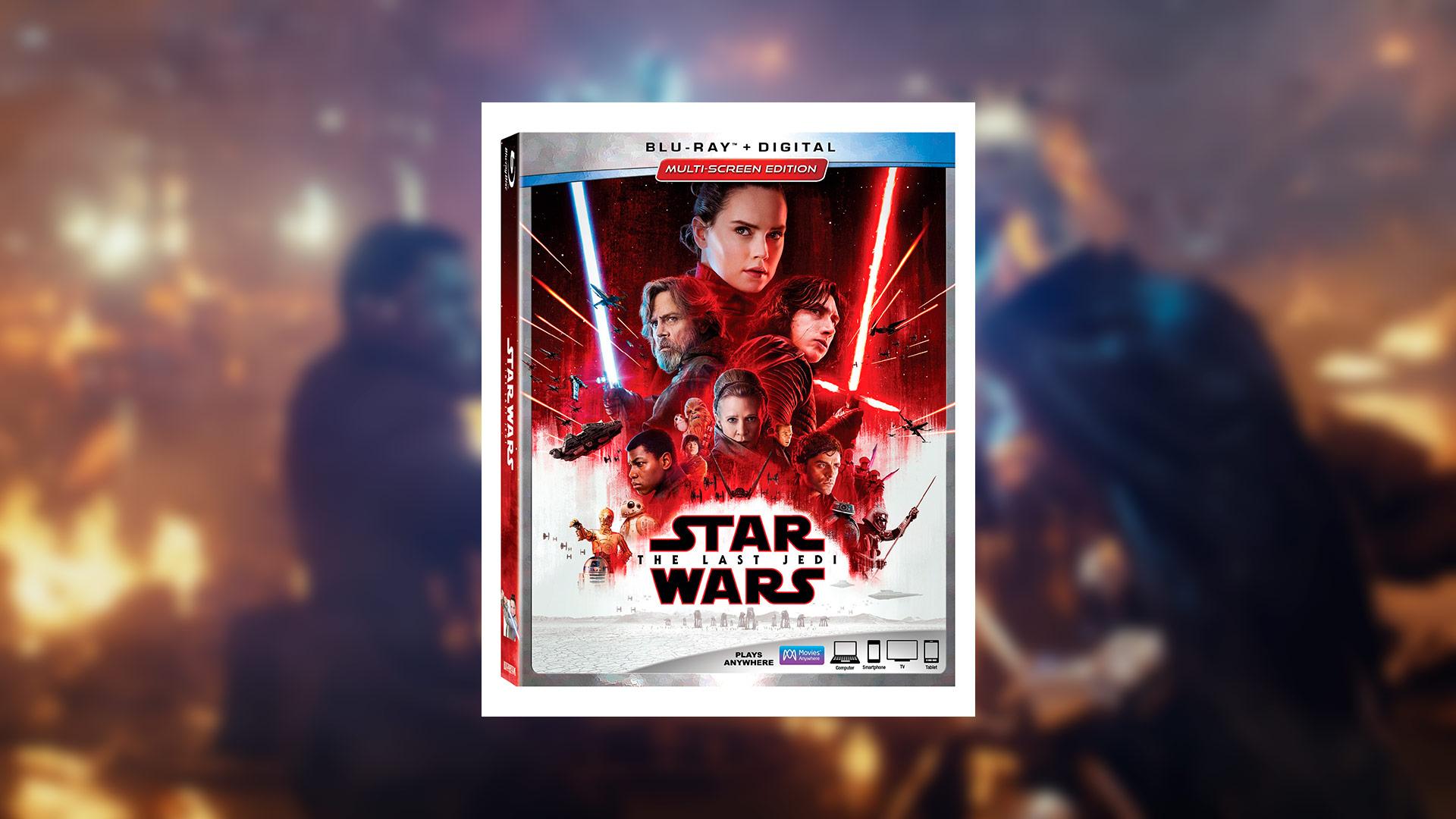 Critique du Blu-Ray Star Wars – The Last Jedi réalisé par Rian Johnson