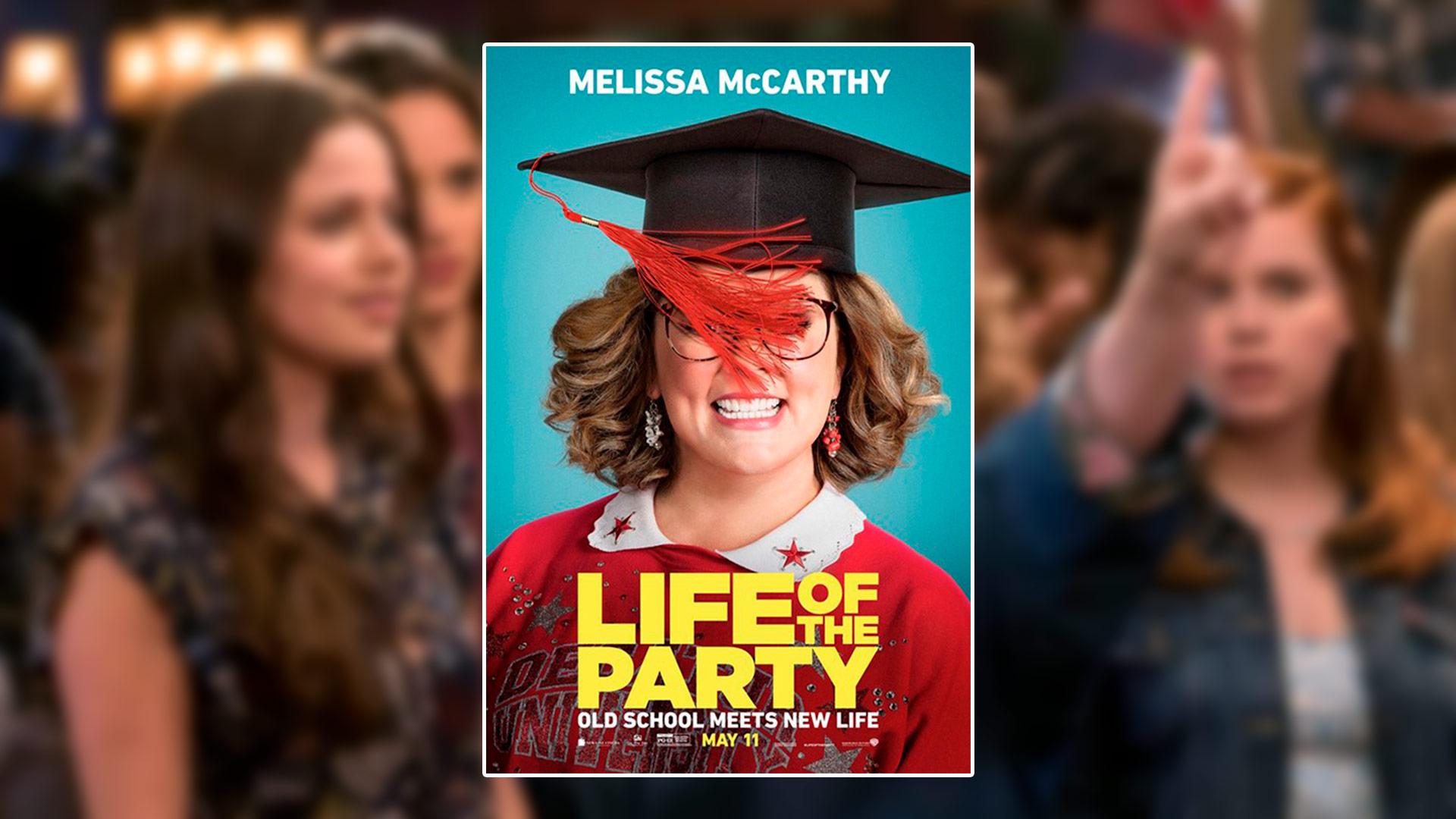 Critique du film Life of the Party avec Melissa McCarthy