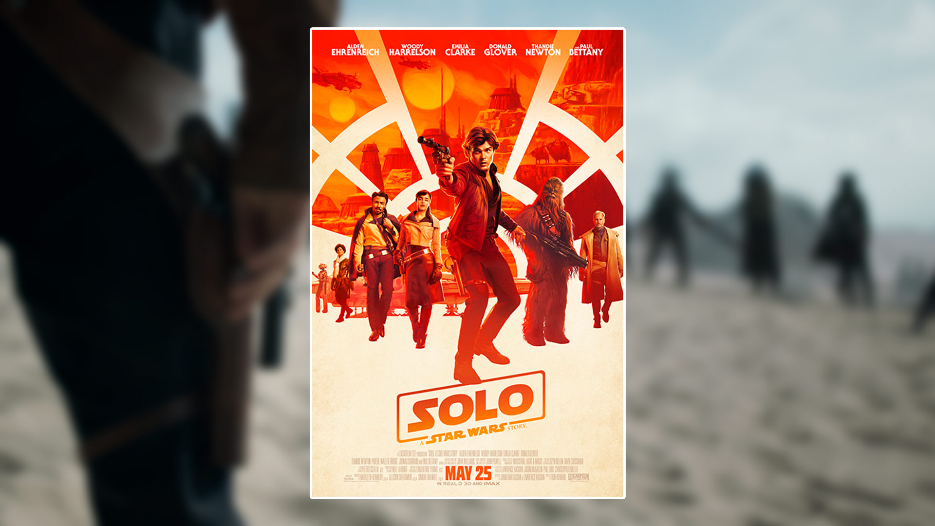 Critique du film Solo: A Star Wars Story