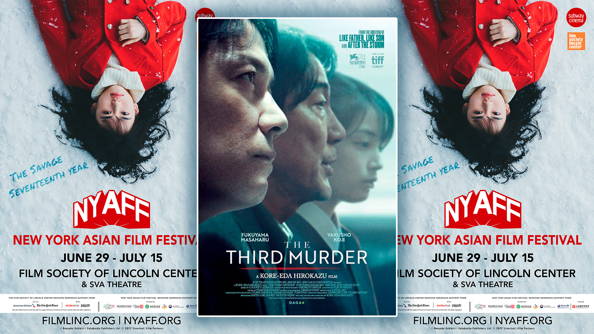 [NYAFF 2018] Critique du film The Third Murder