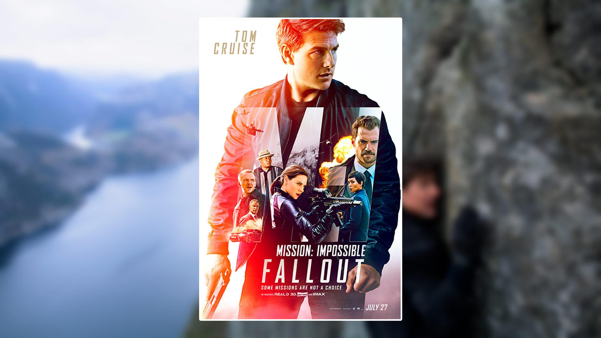 Critique du film Mission: Impossible – Fallout avec Tom Cruise