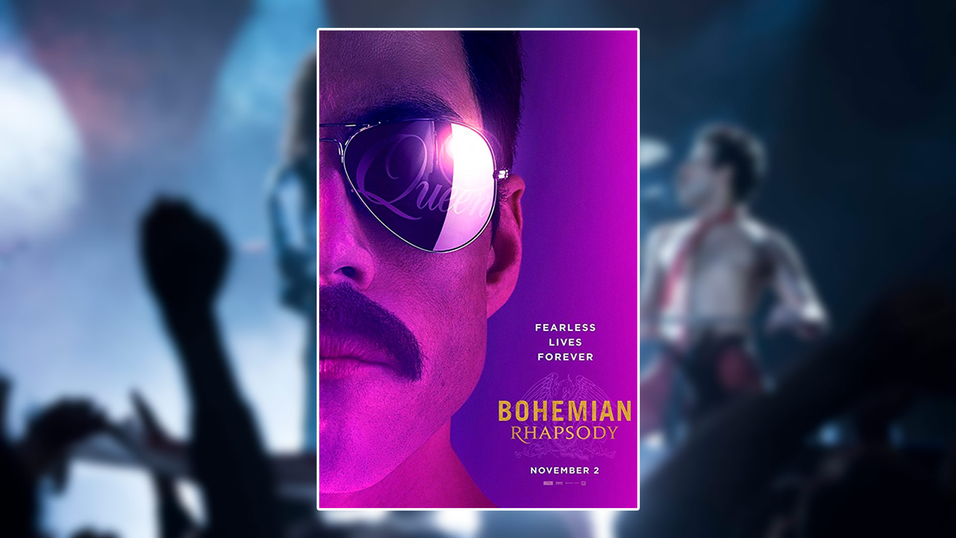 Critique du film Bohemian Rhapsody avec Rami Malek