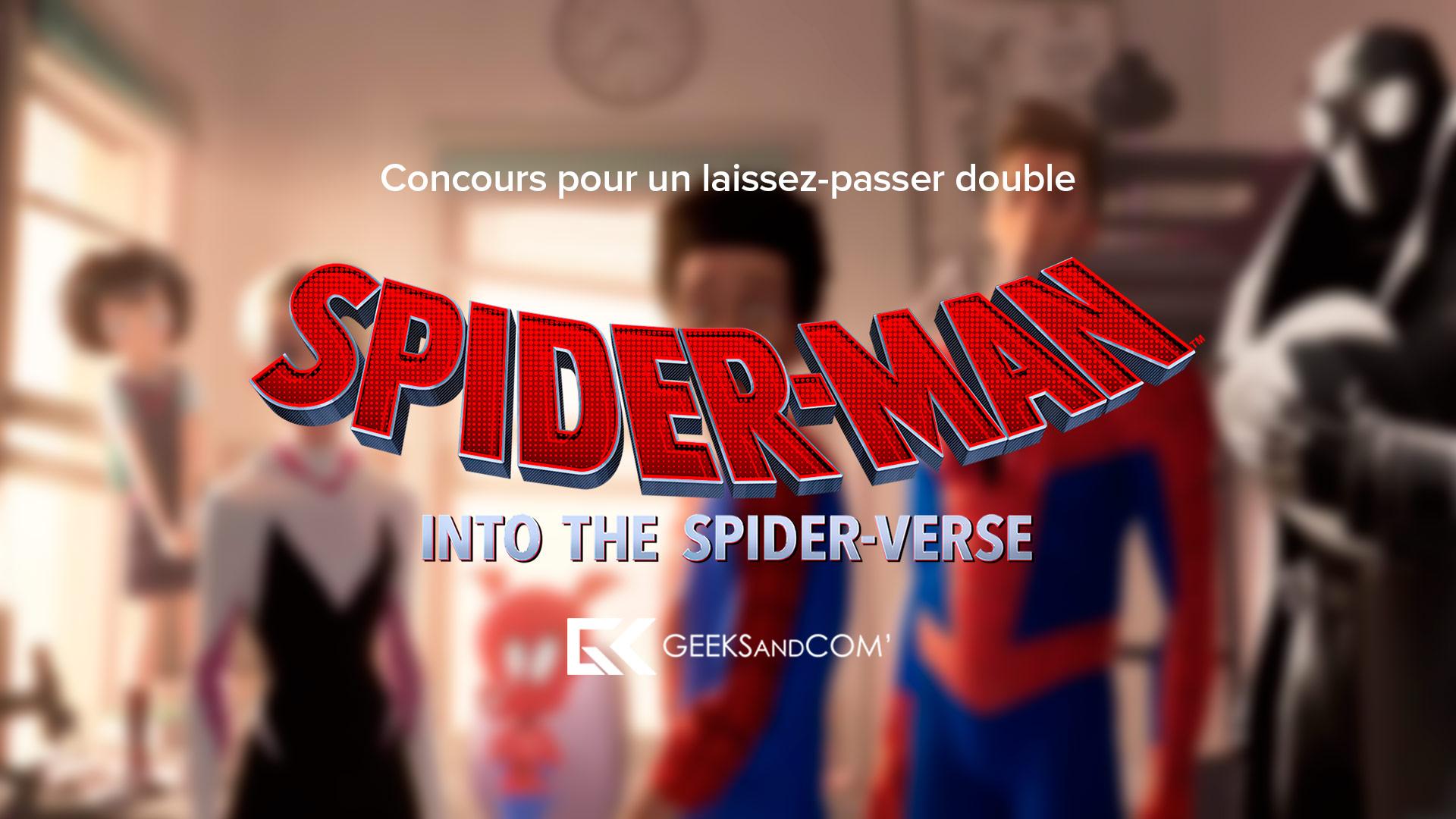 [MTL] Concours pour voir le film SPIDER-MAN : DANS LE SPIDER-VERSE