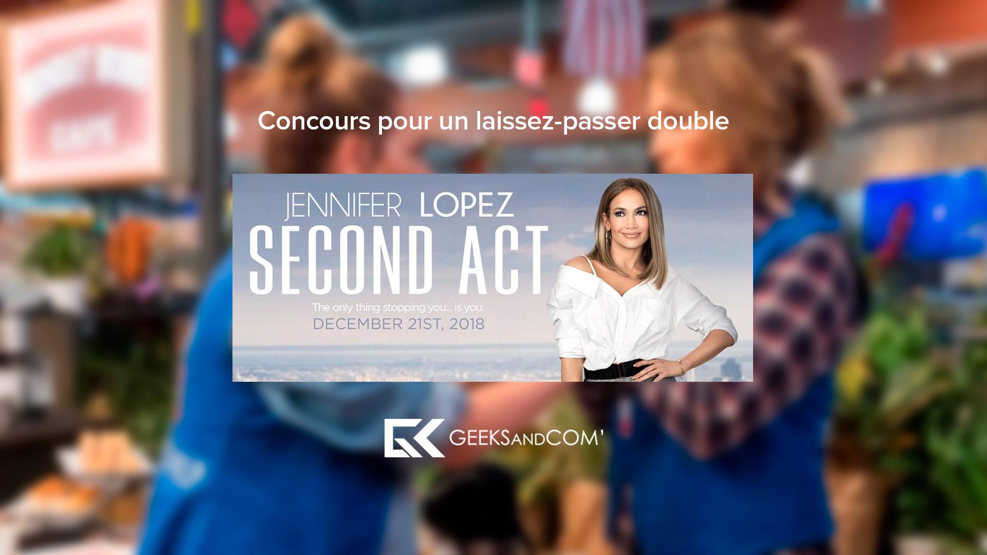 [MTL/QC] Concours pour voir le film SECOND ACT | DEUXIÈME ACTE