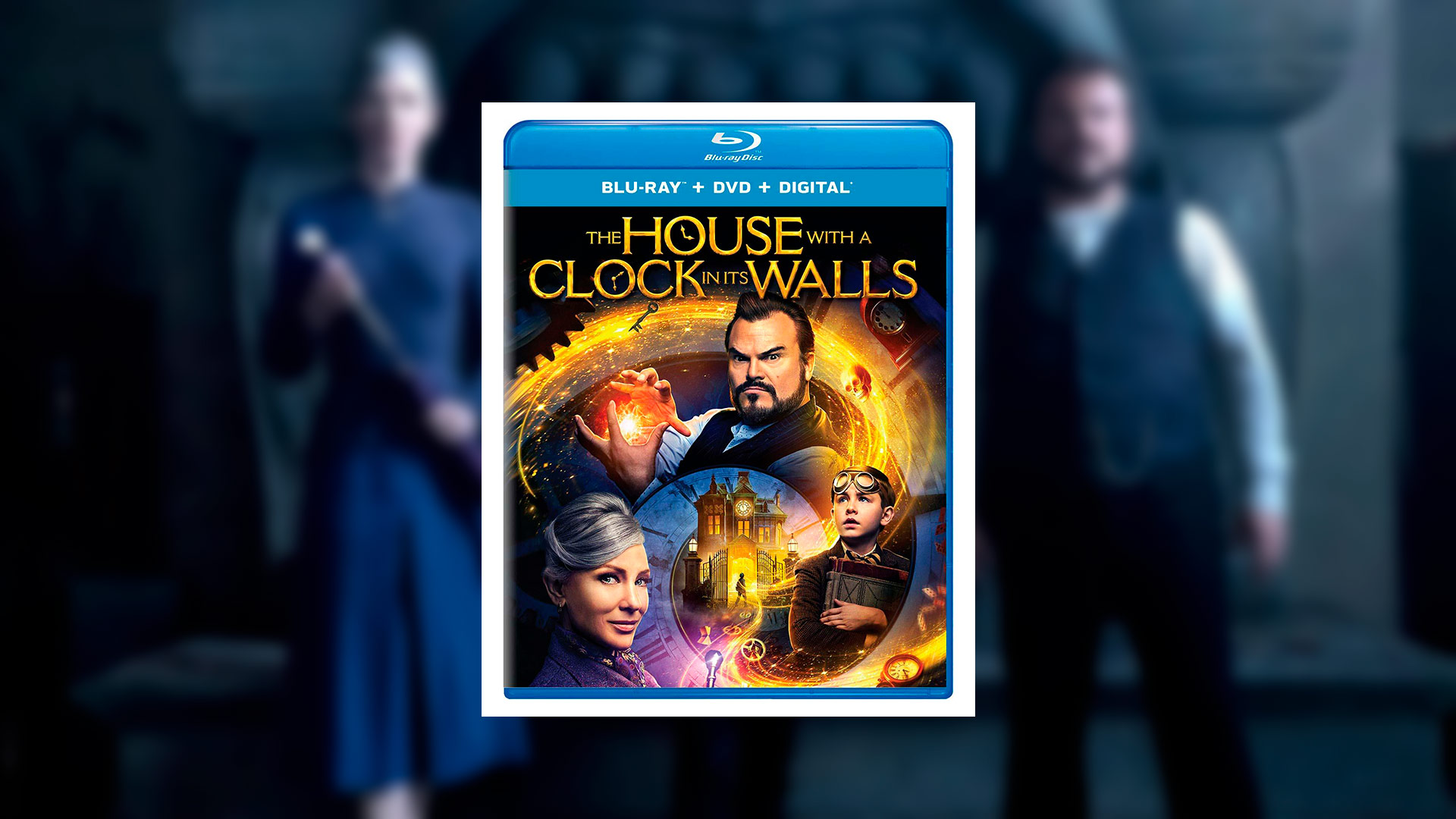 Critique du film The House With a Clock in its Walls (Blu-Ray)