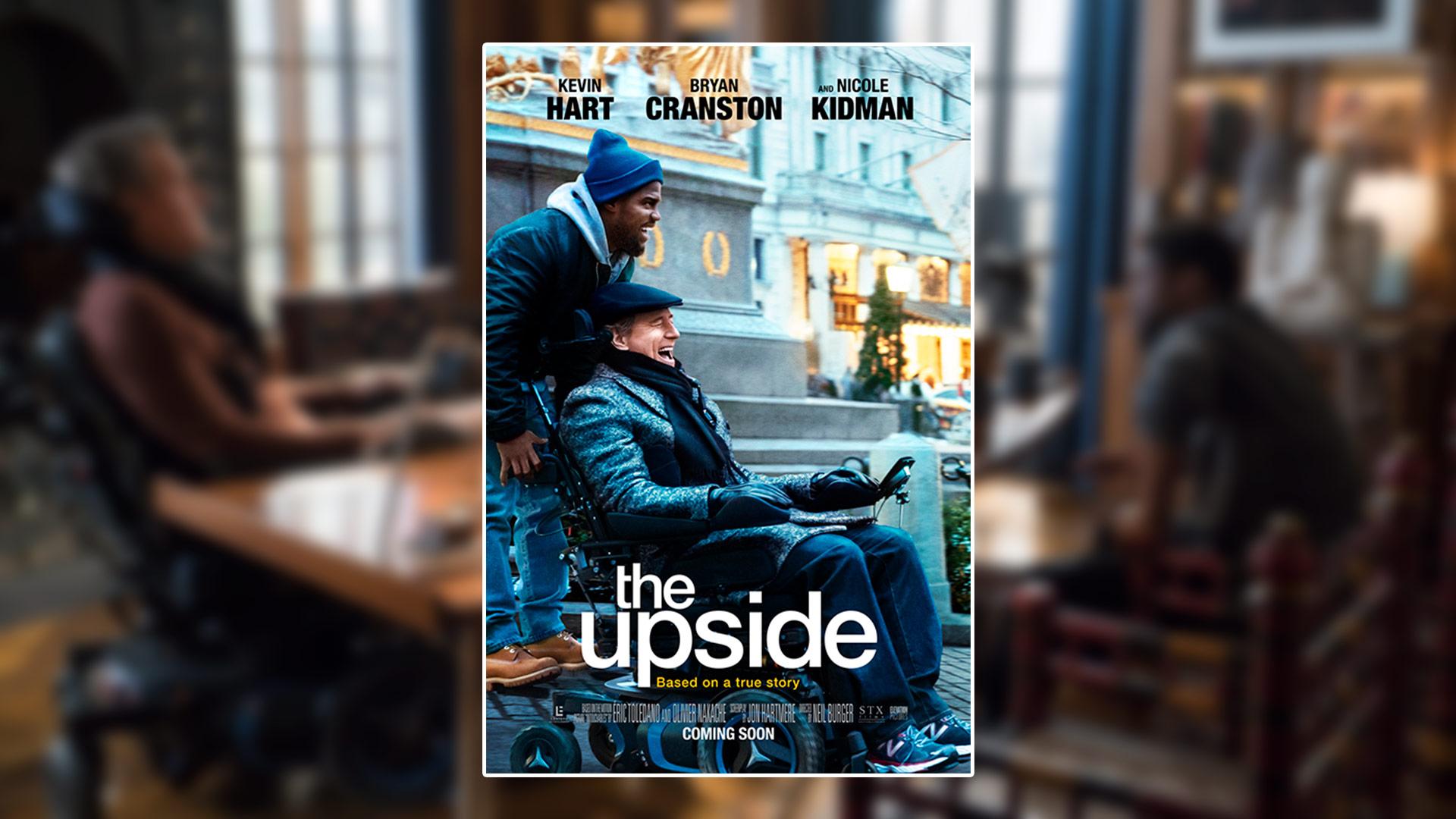 Critique du film The Upside avec Kevin Hart et Bryan Cranston