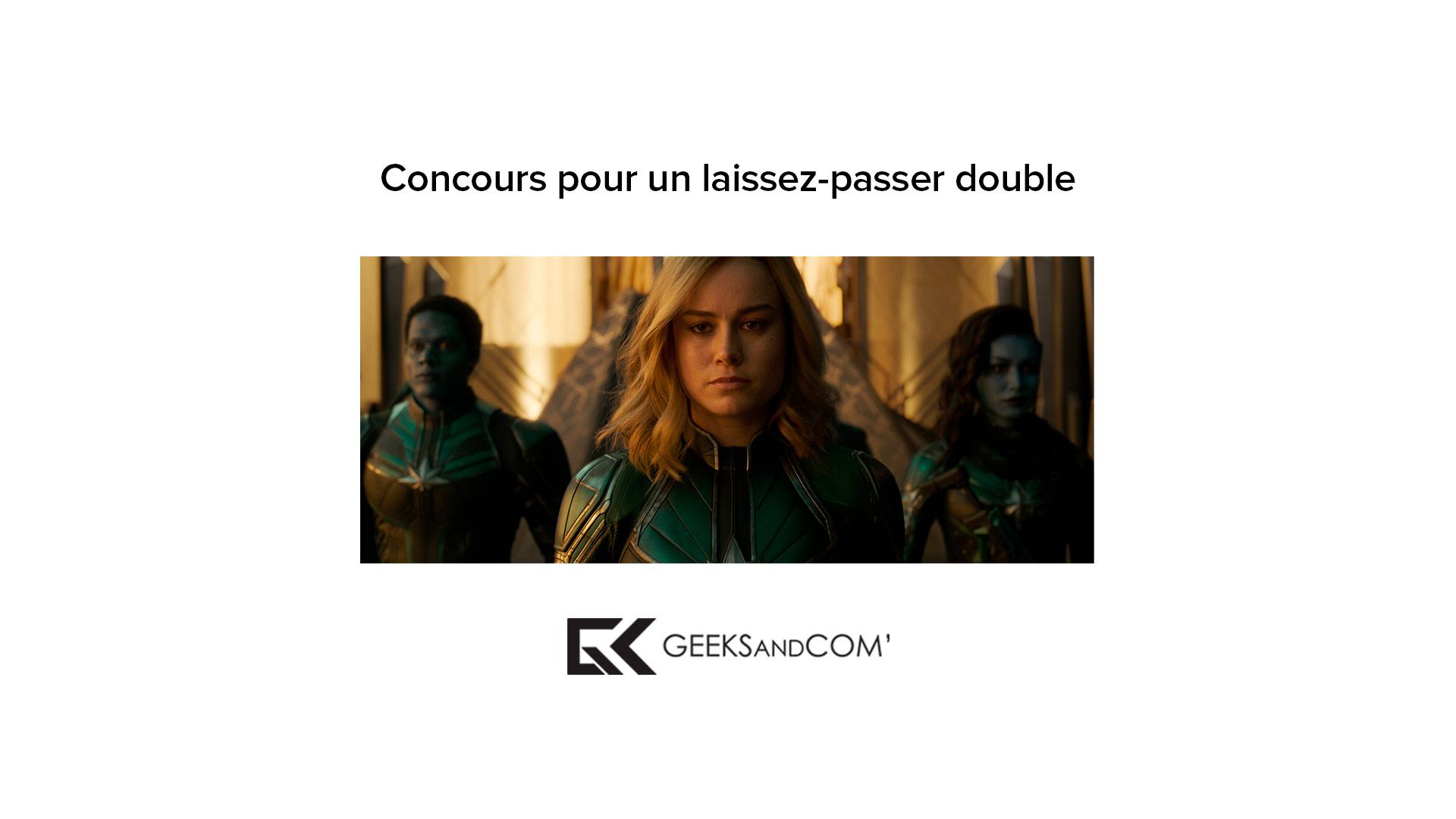 [MTL] Concours pour voir le film CAPITAINE MARVEL des Studios Marvel