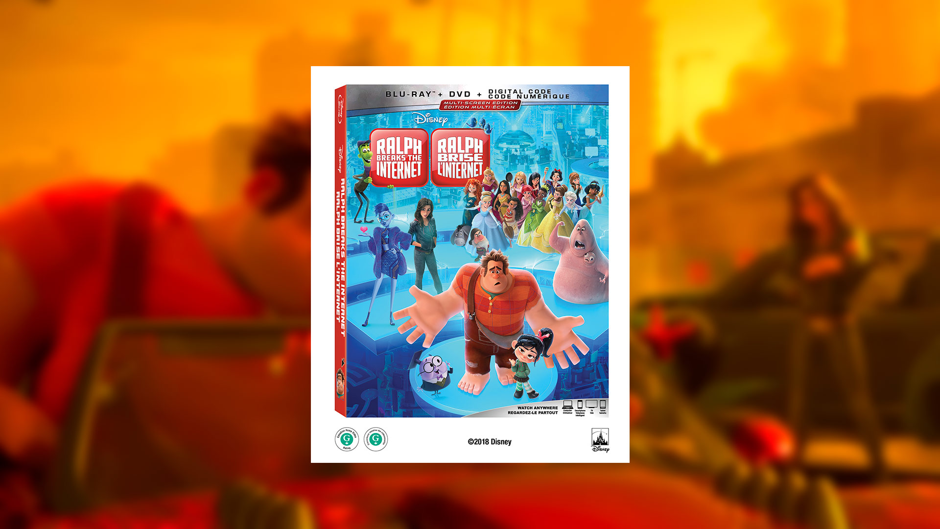 Ralph Breaks The Internet (Critique du Blu-Ray)