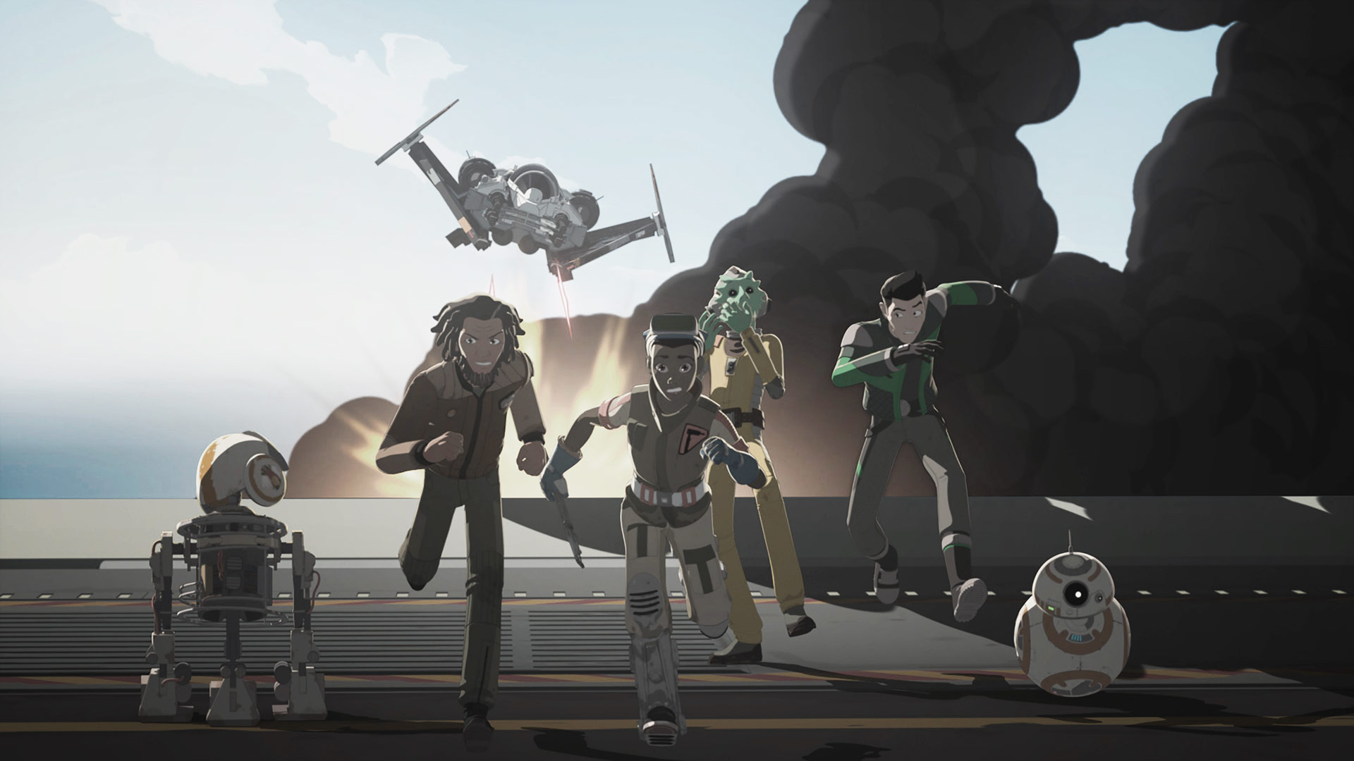 Star Wars: Resistance – Saison 1 – Critique | DVD